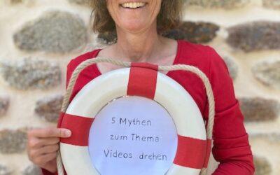 5 Mythen zum Thema Videos drehen